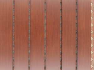 木质条形吸音板 木质孔型吸